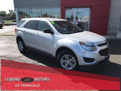 2017 Chevrolet Equinox for sale at Legend Motors of Detroit in Detroit MI