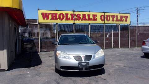 2006 Pontiac G6 for sale at LONG BROTHERS CAR COMPANY in Cleveland OH