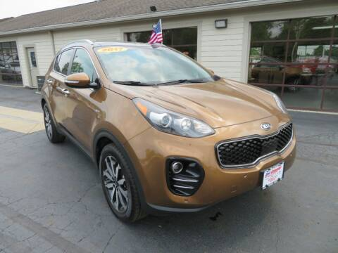 2017 Kia Sportage for sale at Tri-County Pre-Owned Superstore in Reynoldsburg OH