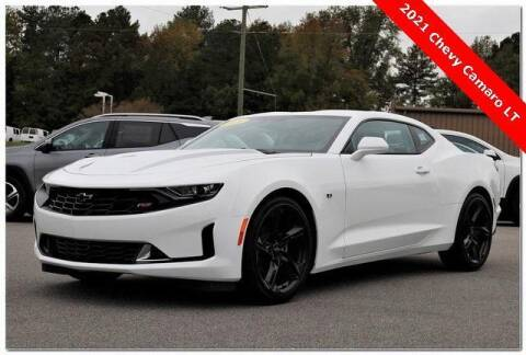 2021 Chevrolet Camaro for sale at WHITE MOTORS INC in Roanoke Rapids NC