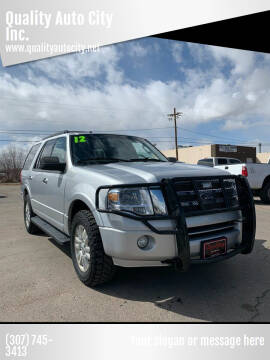 2012 Ford Expedition for sale at Quality Auto City Inc. in Laramie WY