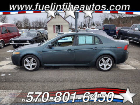 2004 Acura TL for sale at FUELIN FINE AUTO SALES INC in Saylorsburg PA