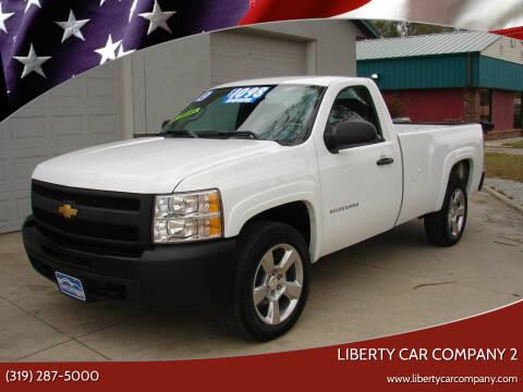 2012 Chevrolet Silverado 1500 for sale at Liberty Car Company - II in Waterloo IA