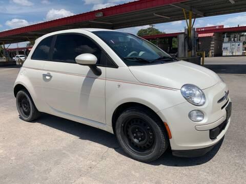 2013 FIAT 500 for sale at C.J. AUTO SALES llc. in San Antonio TX