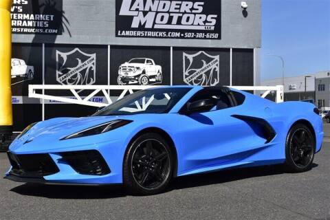 2020 Chevrolet Corvette for sale at Landers Motors in Gresham OR