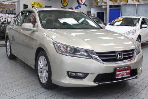 2013 Honda Accord for sale at Windy City Motors in Chicago IL