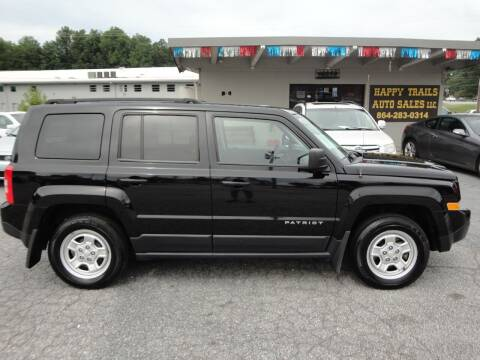 2014 Jeep Patriot for sale at HAPPY TRAILS AUTO SALES LLC in Taylors SC