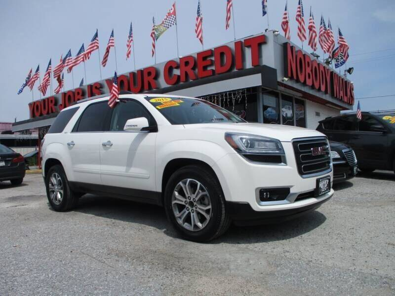 2015 GMC Acadia for sale at Giant Auto Mart 2 in Houston TX