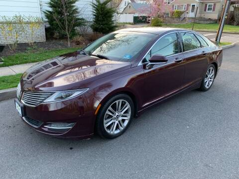2013 Lincoln MKZ for sale at Crazy Cars Auto Sale in Jersey City NJ