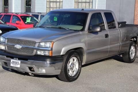 2003 Chevrolet Silverado 1500 for sale at Grasso's Auto Sales in Providence RI