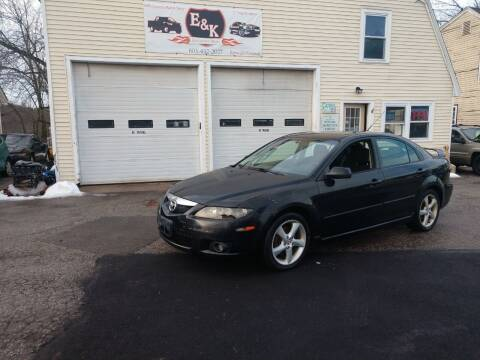 2006 Mazda MAZDA6 for sale at E & K Automotive in Derry NH