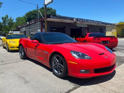 2013 Chevrolet Corvette for sale at Texas Luxury Auto in Houston TX