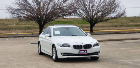 2013 BMW 5 Series for sale at America's Auto Financial in Houston TX