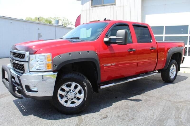 2012 Chevrolet Silverado 2500HD for sale at Platinum Motors LLC in Reynoldsburg OH