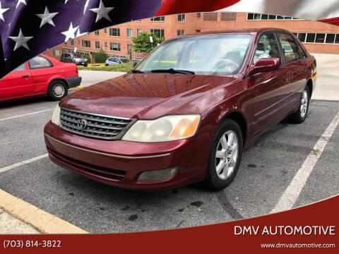 2000 Toyota Avalon for sale at DMV Automotive in Falls Church VA