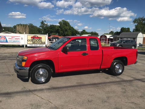 2007 GMC Canyon for sale at Cordova Motors in Lawrence KS