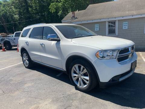 2011 Dodge Durango for sale at Irving Auto Sales in Whitman MA