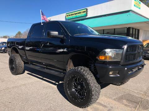 2012 RAM Ram Pickup 2500 for sale at Action Auto Specialist in Norfolk VA