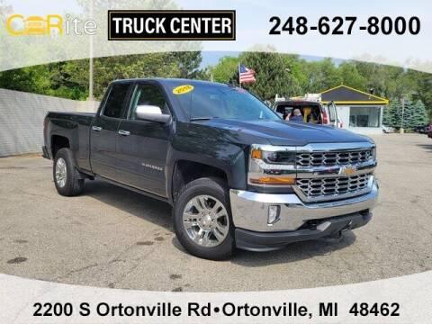 2018 Chevrolet Silverado 1500 for sale at Jamie Sells Cars 810 in Ortonville MI