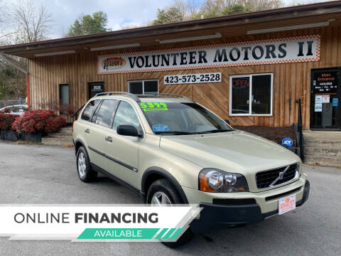 2006 Volvo XC90 for sale at Kerwin's Volunteer Motors in Bristol TN