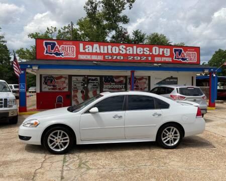 2015 Chevrolet Impala Limited for sale at LA Auto Sales in Monroe LA