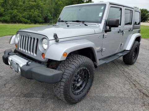 2013 Jeep Wrangler Unlimited for sale at Art Hossler Auto Plaza Inc - Used Inventory in Canton IL
