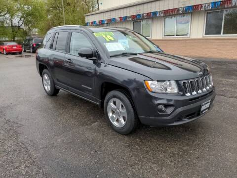 2014 Jeep Compass for sale at Budget Motors of Wisconsin in Racine WI