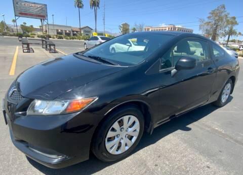 2012 Honda Civic for sale at Charlie Cheap Car in Las Vegas NV