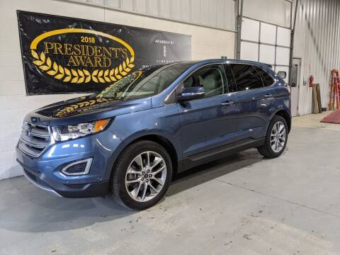 2018 Ford Edge for sale at LIDTKE MOTORS in Beaver Dam WI