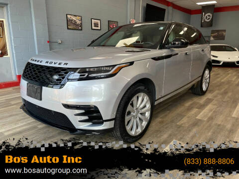 2018 Land Rover Range Rover Velar for sale at Bos Auto Inc in Quincy MA