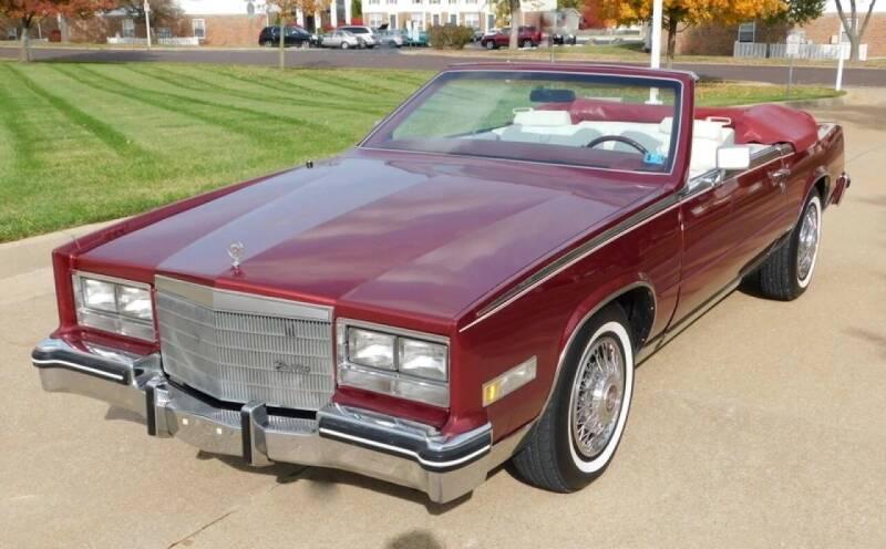 1984 Cadillac Eldorado for sale at WEST PORT AUTO CENTER INC in Fenton MO