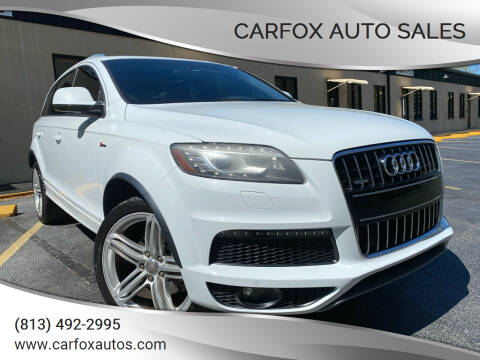 2014 Audi Q7 for sale at Carfox Auto Sales in Tampa FL