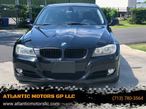 2011 BMW 3 Series for sale at ATLANTIC MOTORS GP LLC in Houston TX