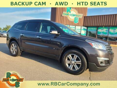 2015 Chevrolet Traverse for sale at R & B Car Co in Warsaw IN