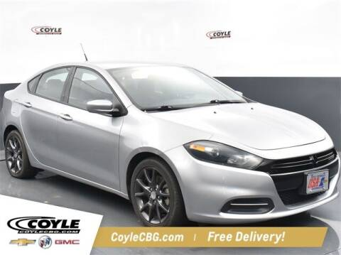 2016 Dodge Dart for sale at COYLE GM - COYLE NISSAN - New Inventory in Clarksville IN