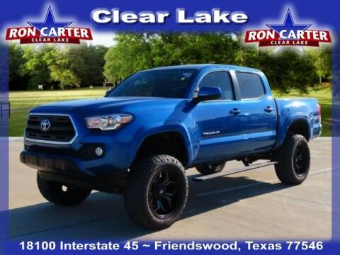 2017 Toyota Tacoma for sale at Ron Carter  Clear Lake Used Cars in Houston TX