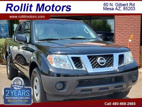 2012 Nissan Frontier for sale at Rollit Motors in Mesa AZ