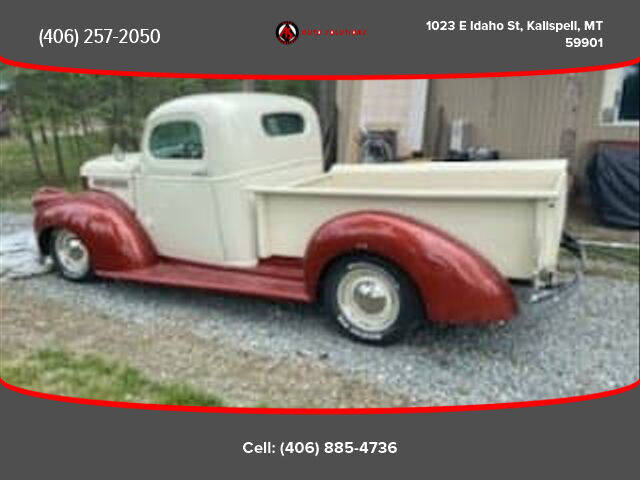 1946 Chevrolet Pick Up for sale at Auto Solutions in Kalispell MT
