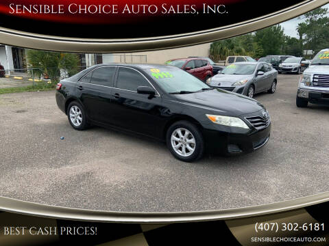 2011 Toyota Camry for sale at Sensible Choice Auto Sales, Inc. in Longwood FL