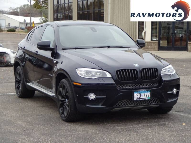 2014 BMW X6 for sale at RAVMOTORS 2 in Crystal MN
