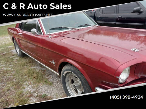 1966 Ford Mustang for sale at C & R Auto Sales in Bowlegs OK