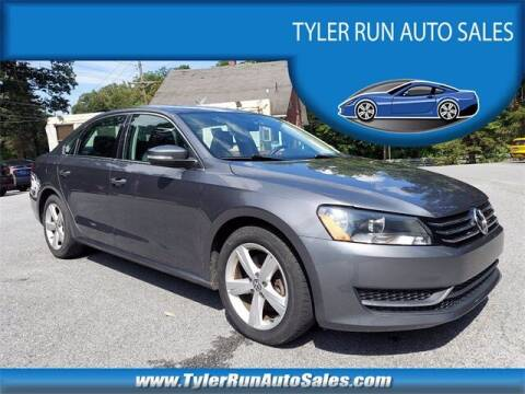 2013 Volkswagen Passat for sale at Tyler Run Auto Sales in York PA