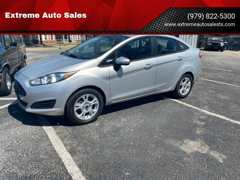 2014 Ford Fiesta for sale at Extreme Auto Sales in Bryan TX