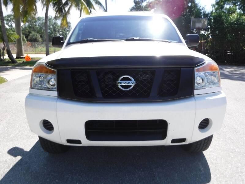 2011 Nissan Titan for sale at Seven Mile Motors, Inc. in Naples FL