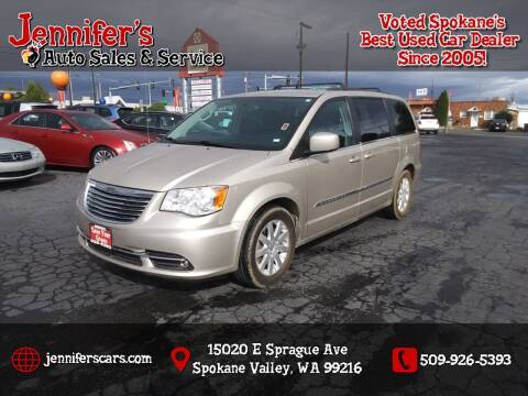 2014 Chrysler Town and Country for sale at Jennifer's Auto Sales in Spokane Valley WA