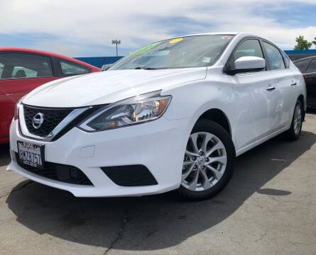 2019 Nissan Sentra for sale at LUGO AUTO GROUP in Sacramento CA