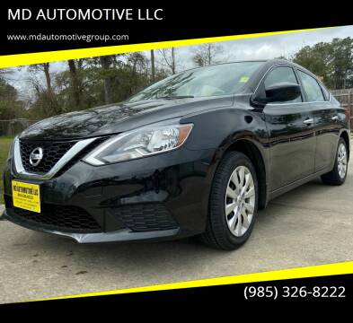 2017 Nissan Sentra for sale at MD AUTOMOTIVE LLC in Slidell LA