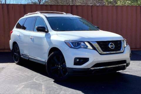 2017 Nissan Pathfinder for sale at CU Carfinders in Norcross GA