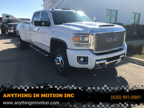 2017 GMC Sierra 3500HD for sale at ANYTHING IN MOTION INC in Bolingbrook IL