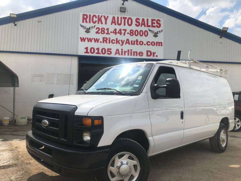 2014 Ford E-Series Cargo for sale at Ricky Auto Sales in Houston TX